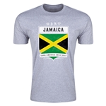 Jamaica Copa America 2015 Shield Fashion T-Shirt (Grey)