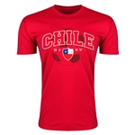Chile Copa America 2015 Fashion T-Shirt (Red)