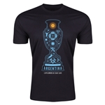 Argentina Copa America 2015 Fashion T-Shirt (Black)