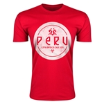Peru Copa America 2015 Fashion T-Shirt (Red)