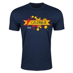 Colombia Copa America 2015 Fashion T-Shirt (Navy)