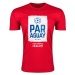 Paraguay Copa America 2015 Fashion T-Shirt (Red)
