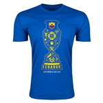 Ecuador Copa America 2015 Fashion T-Shirt (Blue)