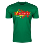 Bolivia Copa America 2015 Fashion T-Shirt (Green)
