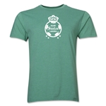 Santos Laguna Distressed Men's Fashion T-Shirt (Heather Green)