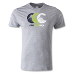 Canterbury CCC Tri-Color Kiwi Rugby T-Shirt (Gray)