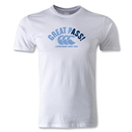 Canterbury CCC Great Pass Rugby T-Shirt (White)