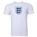 England Core Men's Fashion T-Shirt (White)