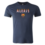 Barcelona Alexis Men's Fashion T-Shirt (Navy)