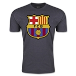 Barcelona Core Men's Fashion T-Shirt (Dark Gray)