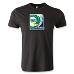 FIFA Confederations Cup 2013 Men's Fashion Event Emblem T-Shirt (Black)
