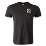 FIFA Confederations Cup 2013 Men's Fashion Small Emblem T-Shirt (Black)