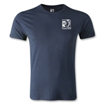 FIFA Confederations Cup 2013 Men's Fashion Small Emblem T-Shirt (Navy)