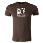FIFA Confederations Cup 2013 Men's Fashion Emblem T-Shirt (Brown)