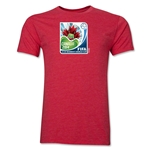 FIFA U-17 Women's World Cup Costa Rica 2014 Men's Core T-Shirt (Heather Red)