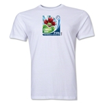 FIFA U-17 Women's World Cup Costa Rica 2014 Men's Core T-Shirt (White)