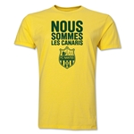 FC Nantes We Are Men's Fashion T-Shirt (Yellow)