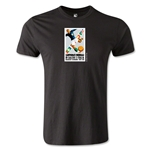 1934 FIFA World Cup Logo Men's Fashion T-Shirt (Black)
