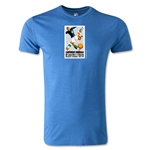 1934 FIFA World Cup Logo Men's Fashion T-Shirt (Heather Royal)