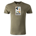 1934 FIFA World Cup Logo Men's Fashion T-Shirt (Dark Gray)