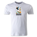 1934 FIFA World Cup Logo Men's Fashion T-Shirt (White)
