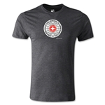 1954 FIFA World Cup Logo Men's Fashion T-Shirt (Dark Gray)