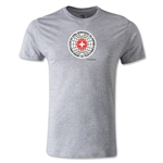 1954 FIFA World Cup Logo Men's Fashion T-Shirt (Gray)