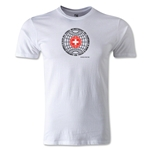 1954 FIFA World Cup Logo Men's Fashion T-Shirt (White)