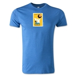 1958 FIFA World Cup Logo Men's Fashion T-Shirt (Heather Royal)