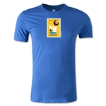 1958 FIFA World Cup Logo Men's Fashion T-Shirt (Royal)