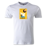 1958 FIFA World Cup Logo Men's Fashion T-Shirt (White)