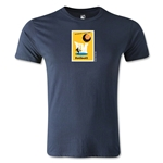 1958 FIFA World Cup Logo Men's Fashion T-Shirt (Navy)