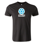 1970 FIFA World Cup Logo Men's Fashion T-Shirt (Black)