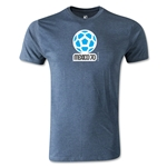 1970 FIFA World Cup Logo Men's Fashion T-Shirt (Blue)
