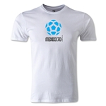 1970 FIFA World Cup Logo Men's Fashion T-Shirt (White)