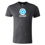 1970 FIFA World Cup Logo Men's Fashion T-Shirt (Dark Gray)