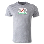 1986 FIFA World Cup Logo Men's Fashion T-Shirt (Gray)