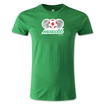 1986 FIFA World Cup Logo Men's Fashion T-Shirt (Green)