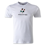 1990 FIFA World Cup Logo Men's Fashion T-Shirt (White)