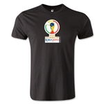 2002 FIFA World Cup Logo Men's Fashion T-Shirt (Black)