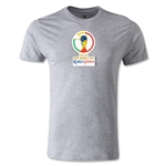 2002 FIFA World Cup Logo Men's Fashion T-Shirt (Gray)