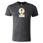 2002 FIFA World Cup Logo Men's Fashion T-Shirt (Dark Gray)