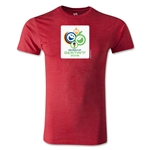 2006 FIFA World Cup Logo Men's Fashion T-Shirt (Heather Red)