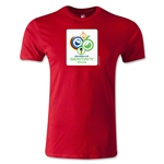 2006 FIFA World Cup Logo Men's Fashion T-Shirt (Red)