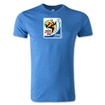 2010 FIFA World Cup Logo Men's Fashion T-Shirt (Heather Royal)