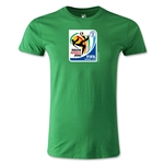 2010 FIFA World Cup Logo Men's Fashion T-Shirt (Green)