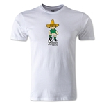 1970 FIFA World Cup Juanito Mascot Men's Fashion T-Shirt (White)