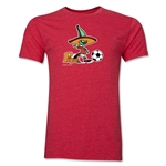 1986 FIFA World Cup Pique Mascot Men's Fashion T-Shirt (Heather Red)