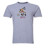 1994 FIFA World Cup Striker Mascot Men's Fashion T-Shirt (Gray)