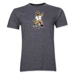 2006 FIFA World Cup Goleo VI Mascot Men's Fashion T-Shirt (Dark Gray)